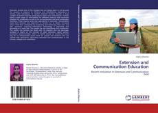 Bookcover of Extension and Communication Education