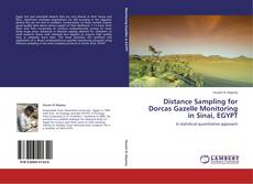 Bookcover of Distance Sampling for Dorcas Gazelle Monitoring in Sinai, EGYPT