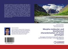 Обложка Morpho-molecular and biochemical characterization of maize genotypes