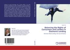 Buchcover von Balancing the Rights of Consumers and Lenders in Electronic Lending