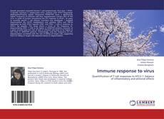Bookcover of Immune response to virus