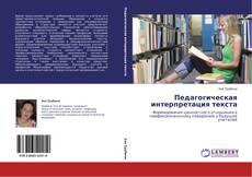 Bookcover of Педагогическая интерпретация текста
