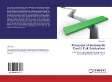 Bookcover of Proposal of Automatic Credit Risk Evaluation