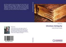 Обложка Christian Antiquity