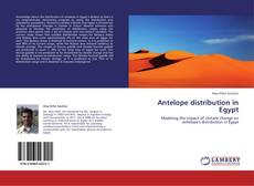 Bookcover of Antelope distribution in Egypt