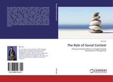 Copertina di The Role of Social Context