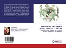 Capa do livro de Reasons for and against giving money to charities