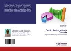 Bookcover of Qualitative Regression Models