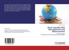 Capa do livro de Bank Liquidity Risk Management and Measurement