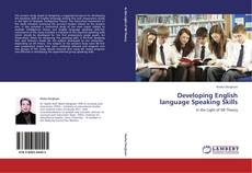 Bookcover of Developing English language Speaking Skills