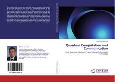 Portada del libro de Quantum Computation and Communication