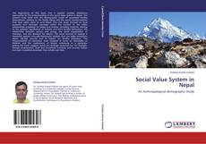 Capa do livro de Social Value System in Nepal