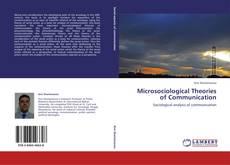 Capa do livro de Microsociological Theories of Communication