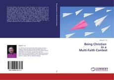 Copertina di Being Christian   in a   Multi-Faith Context