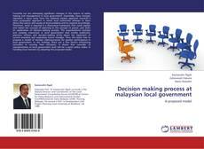 Decision making process at malaysian local government kitap kapağı