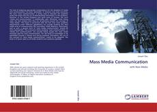 Couverture de Mass Media Communication