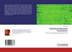 Buchcover von Statistical Machine Translation