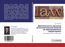 Деятельность органов исполнительной власти на арендованных территориях kitap kapağı