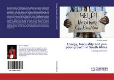 Bookcover of Energy, Inequality and pro-poor growth in South Africa