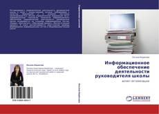 Buchcover von Информационное обеспечение деятельности руководителя школы
