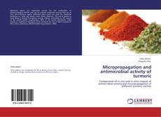 Bookcover of Micropropagation and antimicrobial activity of turmeric