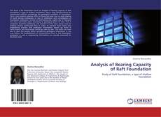Capa do livro de Analysis of Bearing Capacity of Raft Foundation