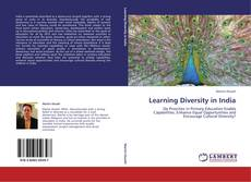 Bookcover of Learning Diversity in India