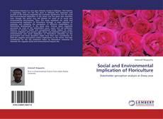 Portada del libro de Social and Environmental Implication of Floriculture