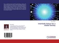 Interfaith Values for a Global Society的封面