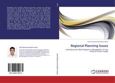 Bookcover of Regional Planning Issues