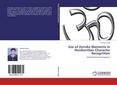 Bookcover of Use of Zernike Moments in Handwritten Character Recognition
