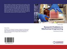 Buchcover von Research Problems in Mechanical Engineering