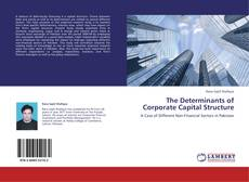 The Determinants of Corporate Capital Structure kitap kapağı