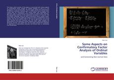 Portada del libro de Some Aspects on Confirmatory Factor Analysis of Ordinal Variables