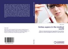 Portada del libro de Smilax aspera in the medical world