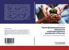 Трансформационные процессы корпоративного развития в России kitap kapağı