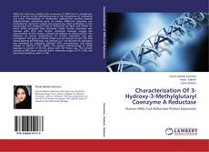 Portada del libro de Characterization Of 3-Hydroxy-3-Methylglutaryl Coenzyme A Reductase