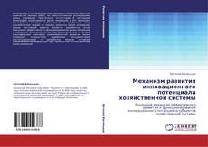 Механизм развития инновационного потенциала хозяйственной системы kitap kapağı