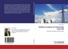 Bookcover of Global analysis of electricity security