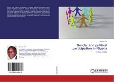 Capa do livro de Gender and political participation in Nigeria