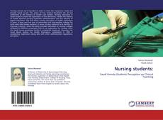 Capa do livro de Nursing students: