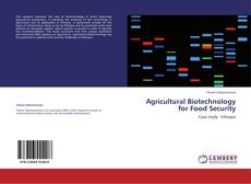 Buchcover von Agricultural Biotechnology for Food Security