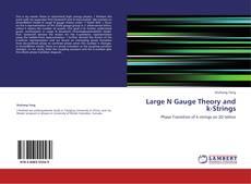 Portada del libro de Large N Gauge Theory and k-Strings