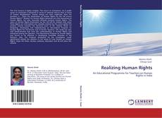 Capa do livro de Realizing Human Rights