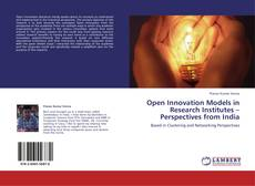 Bookcover of Open Innovation Models in Research Institutes – Perspectives from India