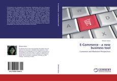 Buchcover von E-Commerce - a new business tool