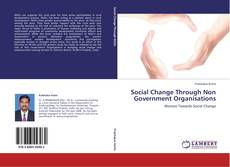Bookcover of Social Change Through Non Government Organisations