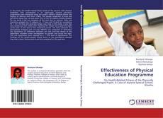 Portada del libro de Effectiveness of Physical Education Programme