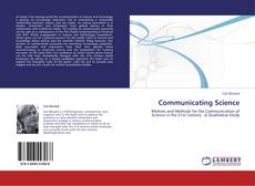 Bookcover of Communicating Science