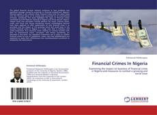 Financial Crimes In Nigeria kitap kapağı